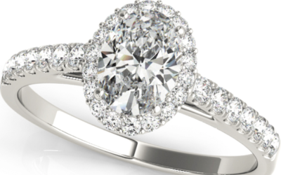 Halo Diamond Engagement Rings:   Pave or not Pave